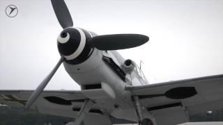 Messerschmitt Me 109 engine start (original sound)
