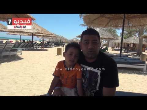 سحر شواطئ العين السخنة يجذب الأسر المصرية