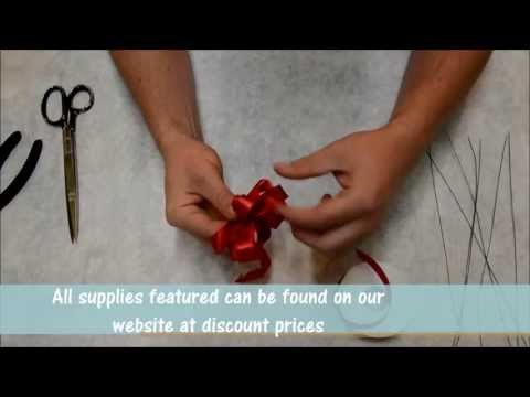 How to: Tying a Florists Bow