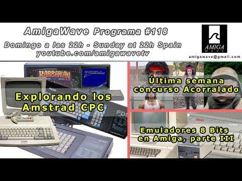 Programa #118 - Explorando los Amstrad CPC, emuladores 8 bits parte III, concurso Acorralado.