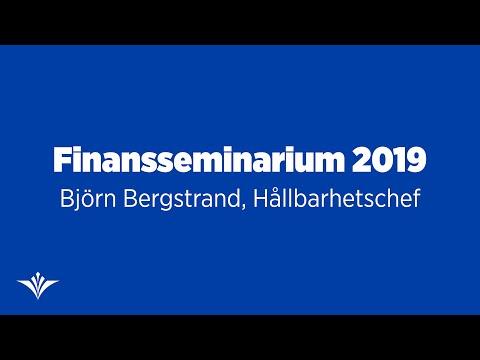Hållbar finansiering med fokus på människa och planet med Hållbarhetschef Björn Bergstrand