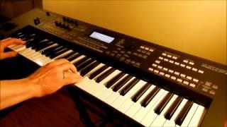 Mury - Jacek Kaczmarski / L'estaca - Lluis Llach - Piotr Zylbert - Yamaha moXF6 - Poland - Live (HD)