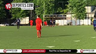 Duelo de Invictos: Red Fire vs. Deportivo 59 Duelo Liga Latinoamericana