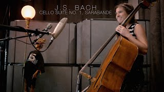 J.S. Bach - Suite for Solo Cello no. 1, Sarabande (double bass)