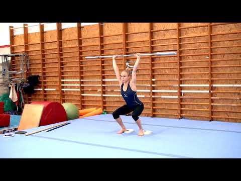 Gymnastiskt Basträningsprogram 09 Knäböj