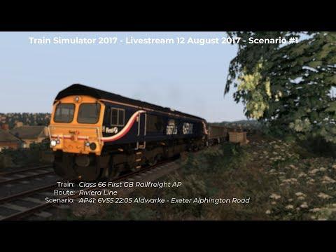 AP41 6V55 2205 Aldwarke  Exeter Alphington Road Livestream 120817