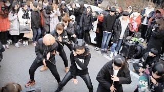 "BTS(방탄소년단) ""RUN"" Dance Cover / DAZZLING with DOB in Korea (160123)"