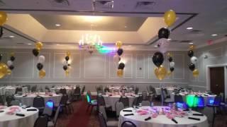 Graduation Party Balloon Bouquets