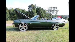 "WhipAddict: 71' & 72"" Chevrolet Chevelle SS Convertibles on Forgiato Wheels, LS3 Motors. Wet Paint"