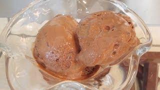 Video helado de chocolate casero | Recetas fáciles de Los postres de Mami