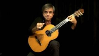 A WHITER SHADE OF PALE (Procol Harum)  classical guitar by Carlos Piegari
