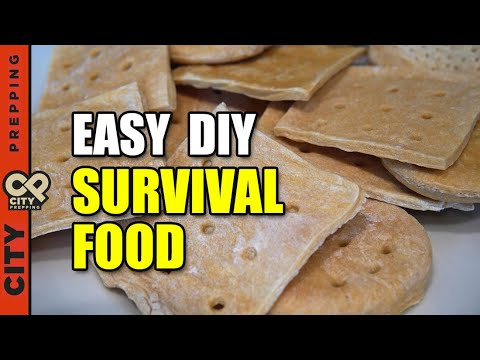 How to Make Hardtack (Forever Lasting Bread)