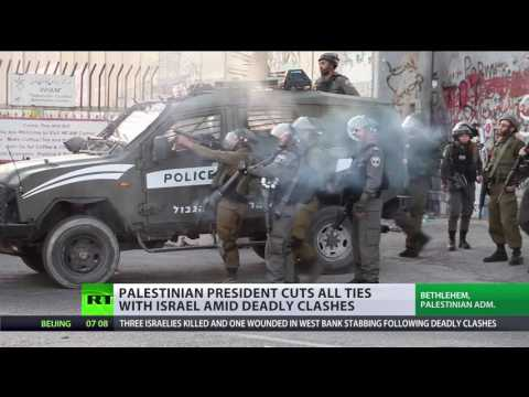 3 Israelis & 3 Palestinians killed in protests in Jerusalem, Palestine freezes contacts with Israel