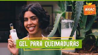 Gel para queimaduras: aprenda a fazer produto caseiro   Bela Gil   Refazenda
