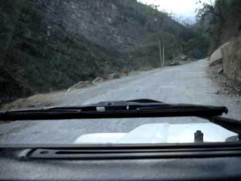 Nepal Mountain Road between Butwal and Tansen May 2008