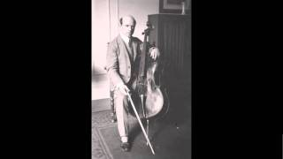 Pablo Casals - 2. Allemande from Cello Suite No.2 in D minor, BWV 1008, By J.S. Bach