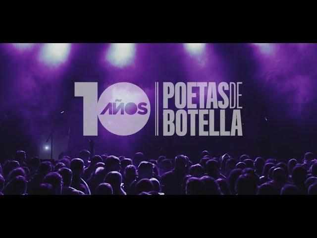 Video en directo de Poetas de Botella en su X Aniversario, 2016