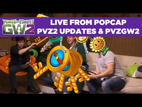 PvZ2 World Keys & PvZGW2 Quests | Live From PopCap
