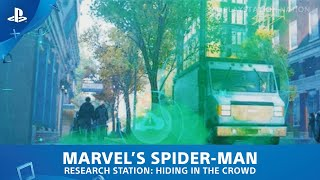 Marvel's Spider-Man (PS4) - Research Station - Hiding in the Crowd
