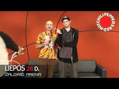 RED HOT CHILI PEPPERS – ID (28 July 2012, Zalgirio arena, Kaunas, Lithuania)
