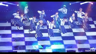 [4K] 161130 세븐틴 (Seventeen) 아낀다 직캠 @MBN 히어로 콘서트 Fancam by -wA-