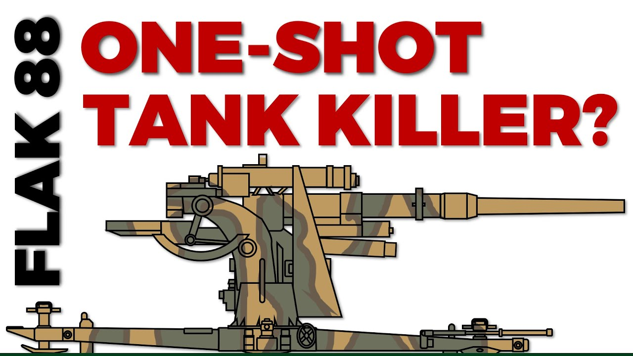 Flak 88 : One-Shot Kill? How Effective was it Really?