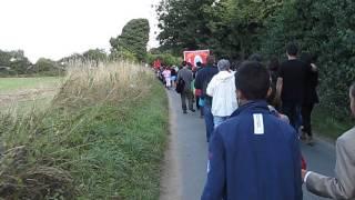 2013 Walsingham Pilgrimage - 1 mile procession