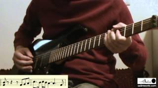 Performing Persian Music Microtones on Electric Guitar - Salim Ghazi Saeedi