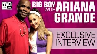 Ariana Grande speaks on Chris Brown & Secret Dancing