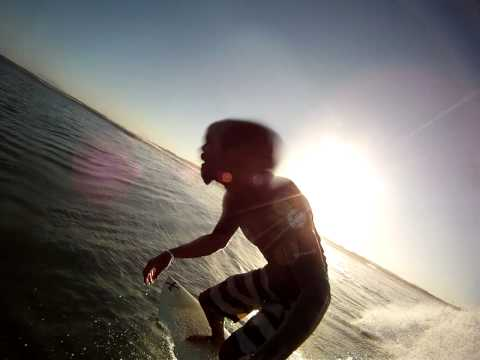 Surfing Puerto Sandino, SLIDING
