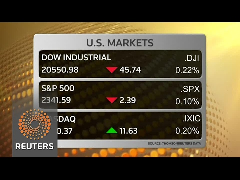 Wall St off as Trump agenda weighed