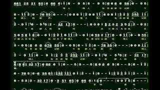 4.午夜香吻(Bb)伴奏-(簡譜)