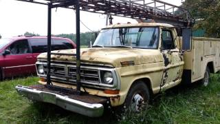 """1971 Ford F350 """"Cherry Picker"""" Lives Again!"""