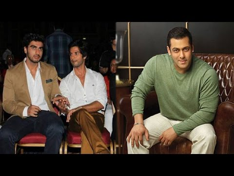 Arjun Reacts On Shahid's Comment On His Diet | Salman Limping Due To A Ligament Tear