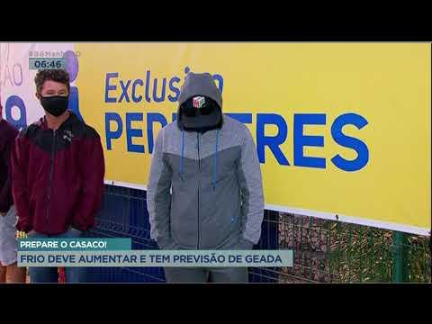 PREPARE O CASACO! - FRIO DEVE AUMENTAR E TEM PREVISÃO DE GEADA.