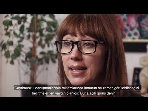 Om den svenska bostadsmarknaden - textad turkiska.
