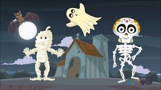 Tumbas por aquí, Tumbas por allá - Canciones Infantiles de Halloween
