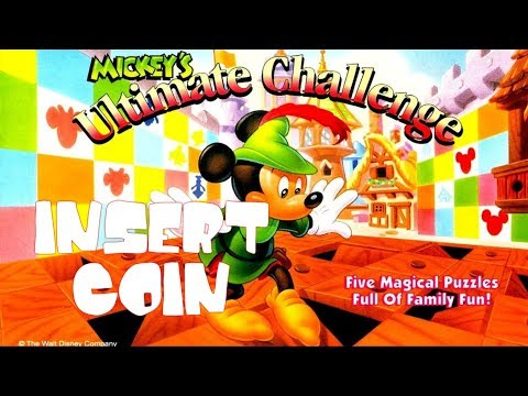 Mickey's Ultimate Challenge (1994) - Mega Drive - Cake Level