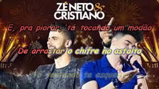 Zé Neto e Cristiano   LARGADO ÀS TRAÇAS com letra