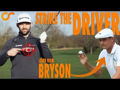 SIMPLE TRICK TO IMPROVE YOUR DRIVER STRIKE - LIKE BRYSON DECHAMBEAU