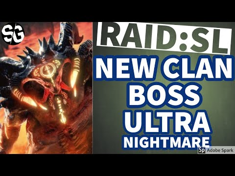 [RAID SHADOW LEGENDS] NEW CLAN BOSS - ULTRA NIGHTMARE! Rant at the end.