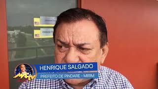 HENRIQUE SALGADO/ PREFEITO DE PINDARÉ - MIRIM/CARNAVAL 2019