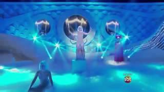 Ana Vitória no Dance se puder interpretando Chandelier