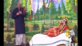 nargis suhaag raat scene punjabi stage drama Heer Ranjha (very funny)