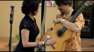 Agua de Beber - Tom Jobim - Beleza Duo cover using live looping
