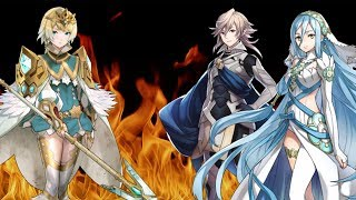 HOLY CRAP, This was a close one! - Azura and Corrin BHB solo Fjorm only