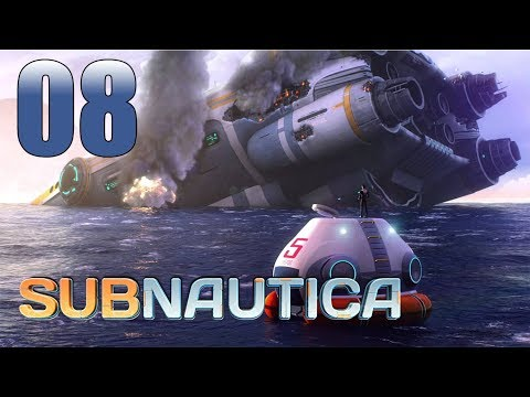 Subnautica - Let's Play Part 8: One-Way Mission into the Deep?!