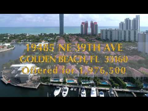 19485 NE 39th Ave, Golden Beach, FL 33160