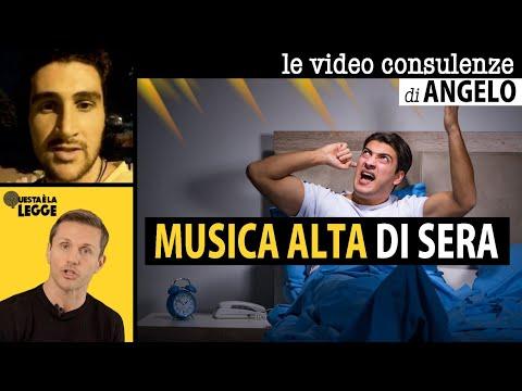 MUSICA ALTA DI SERA: si può denunciare? | avv. Angelo Greco