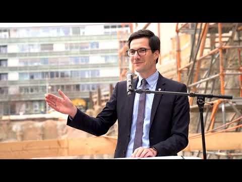 Grundsteinlegung Volksbank-Areal - ZÜBLIN ist Generalunternehmerin